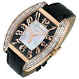 Bramante Men's 18K Red Gold and Diamond Watch