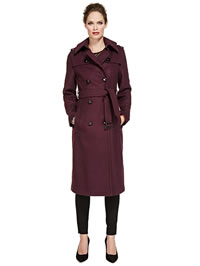 Purple ladies raincoat